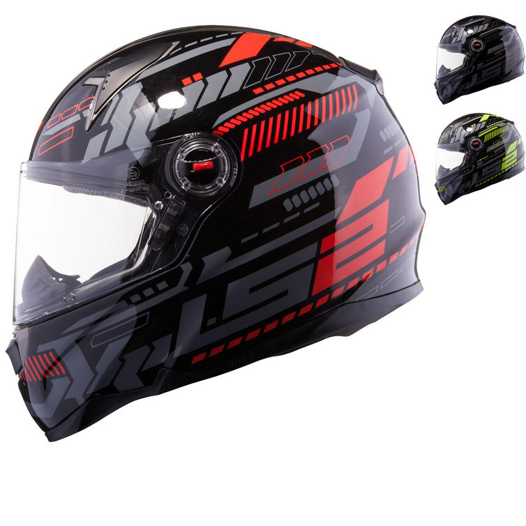 LS2 FF396.51 FT2 Tron Motorcycle Helmet
