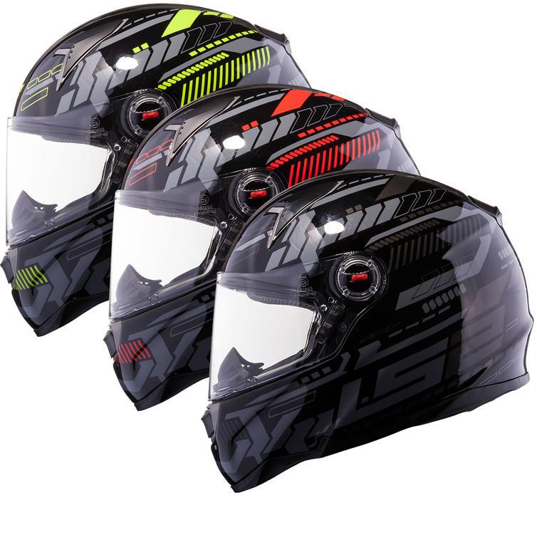 LS2 FF396.51 FT2 Tron Motorcycle Helmet