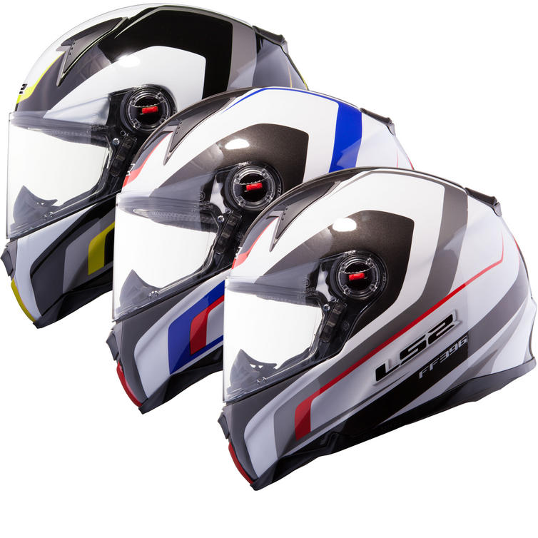 LS2 FF396.52 FT2 Forza R Full Face Motorcycle Helmet