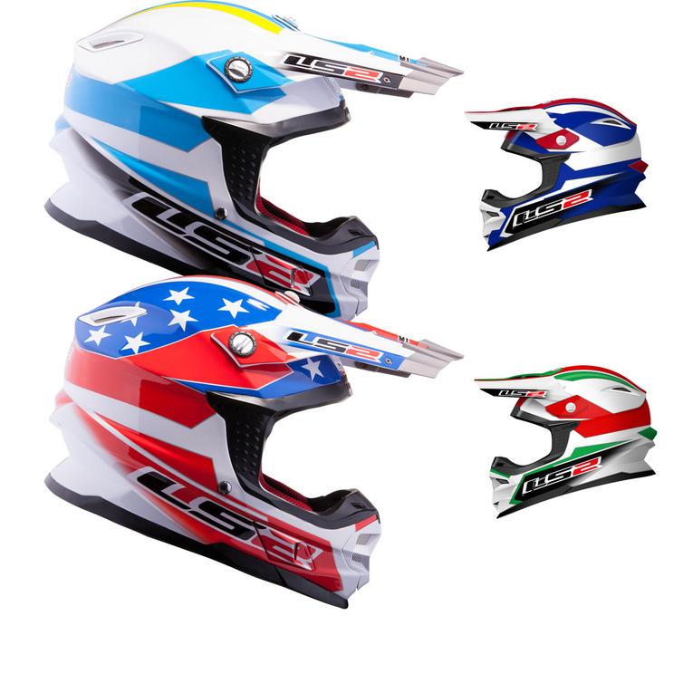LS2 MX456.21 Tuareg Motocross Helmet