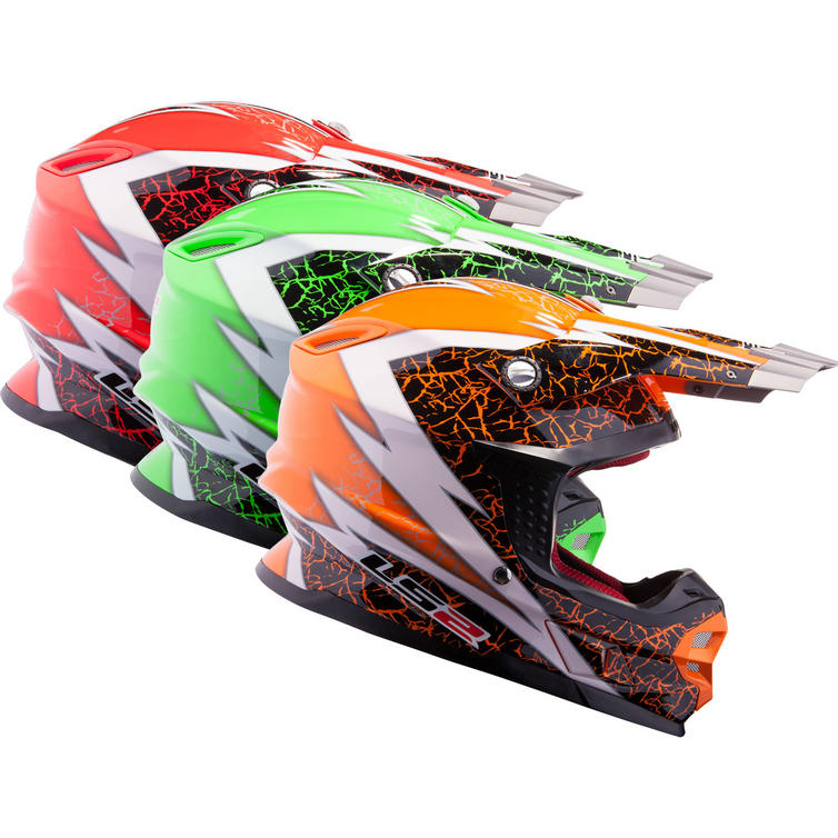 LS2 MX456.32 Craze Motocross Helmet