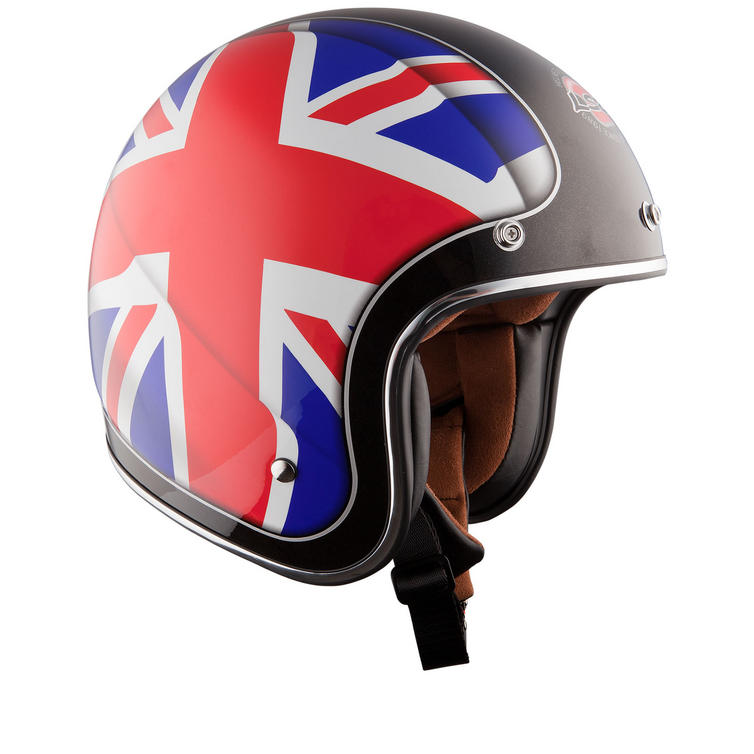 LS2 OF583.28 Union Jack Open Face Motorcycle Helmet