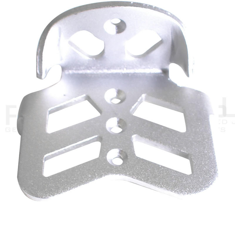 Adult Pro-Jump CZ-Series Aluminium Heel Footplate (1pc)