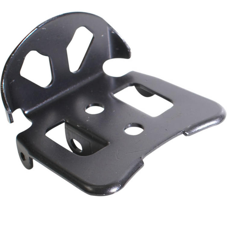 Adult Pro-Jump CZ-Series Black Heel Footplate (1pc)