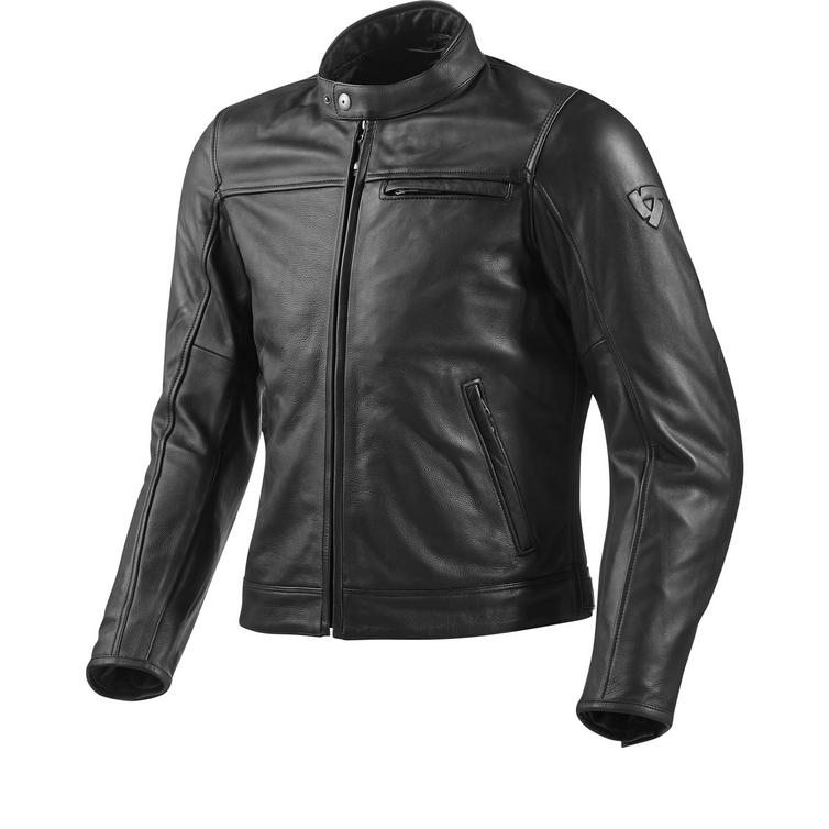 Rev It Roamer Leather Motorcycle Jacket