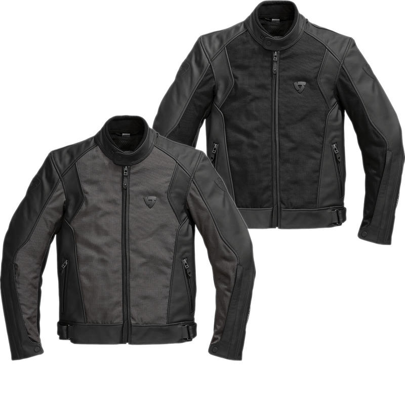 Rev It Ignition 2 Leather Motorcycle Jacket