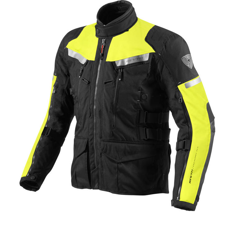 Rev'It Sand 2 High Visibility Men's Motorcycle Jacket