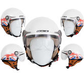 Spada Jetstream Union Jack Open Face Motorcycle Helmet