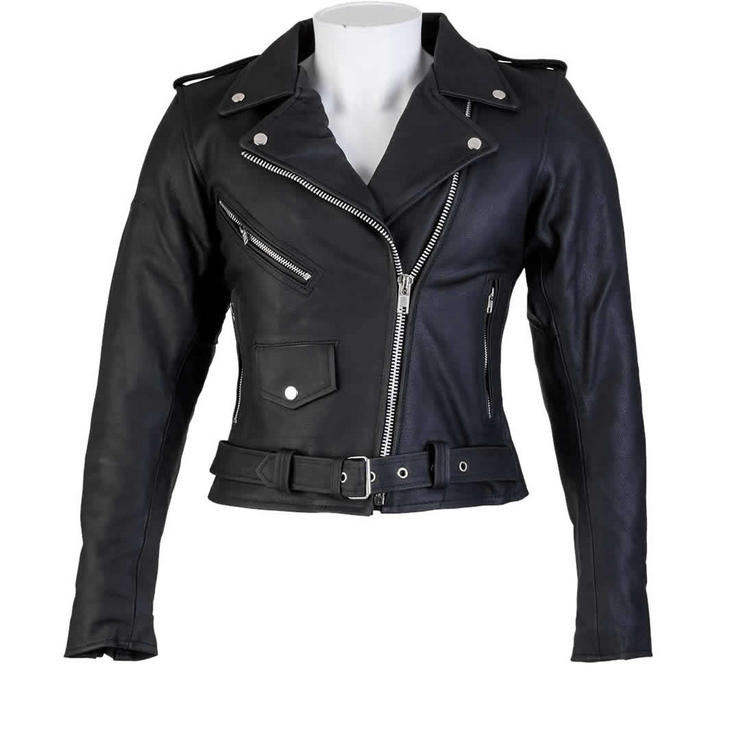 Spada Cruiser Ladies Leather Motorcycle Jacket