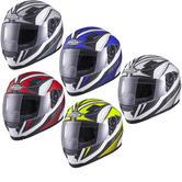 Shox Sniper Siege Motorcycle Helmet