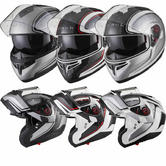 Black Optimus SV Element Flip Front Motorcycle Helmet