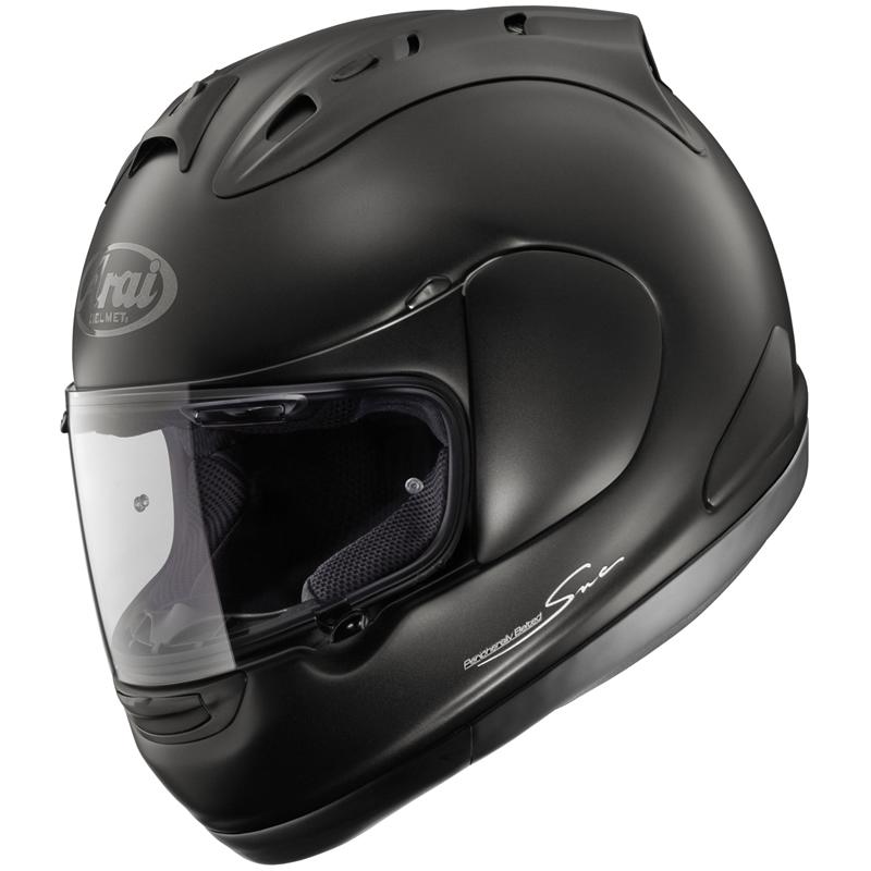 ARAI RX7 GP MOTORCYCLE MOTORBIKE HELMET MATT BLACK L | eBay