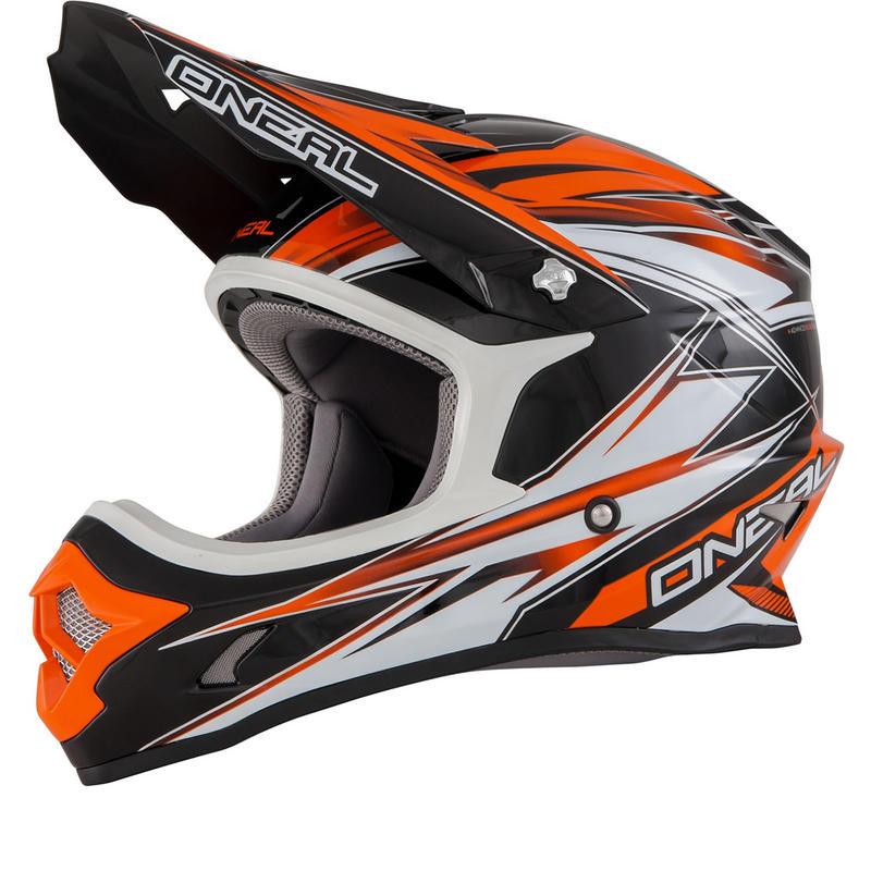 Oneal 3 Series Kids Hurricane Motocross Helmet