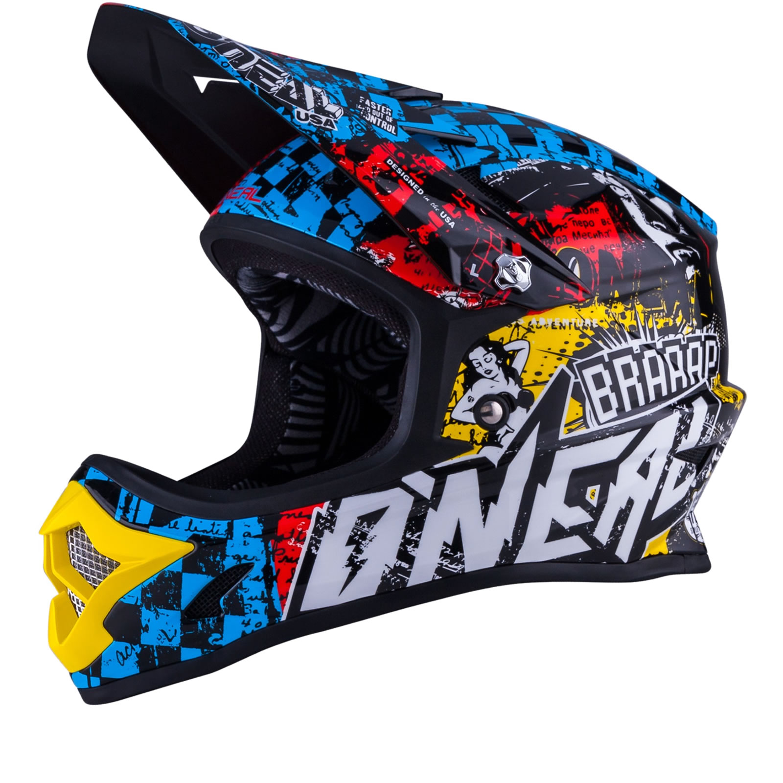 oneal 3 series kids wild motocross helmet helmets. Black Bedroom Furniture Sets. Home Design Ideas