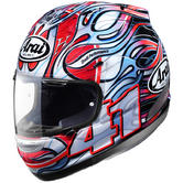 View Item Arai RX-7 GP Haga Replica Motorcycle Helmet