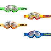 Oneal B-Flex ETR Motocross Goggles Clear