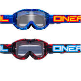 Oneal Blur B1 Icebreaker Clear Motocross Goggles