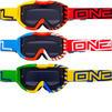 Oneal Blur B1 Okinawa Grey Motocross Goggles Thumbnail 1