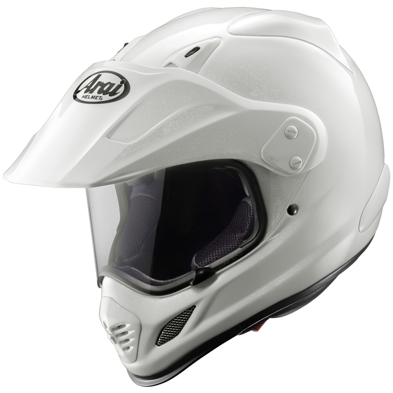 ARAI TOUR X3 DIAMOND MOTORCYCLE CRASH HELMET WHITE M Enlarged Preview