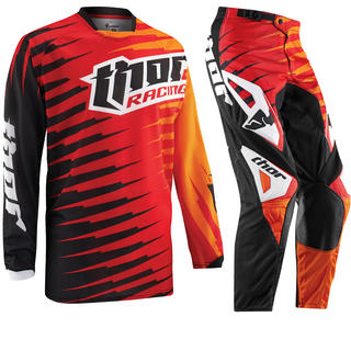 Thor Phase Vented 2015 Rift Red Motocross Kit
