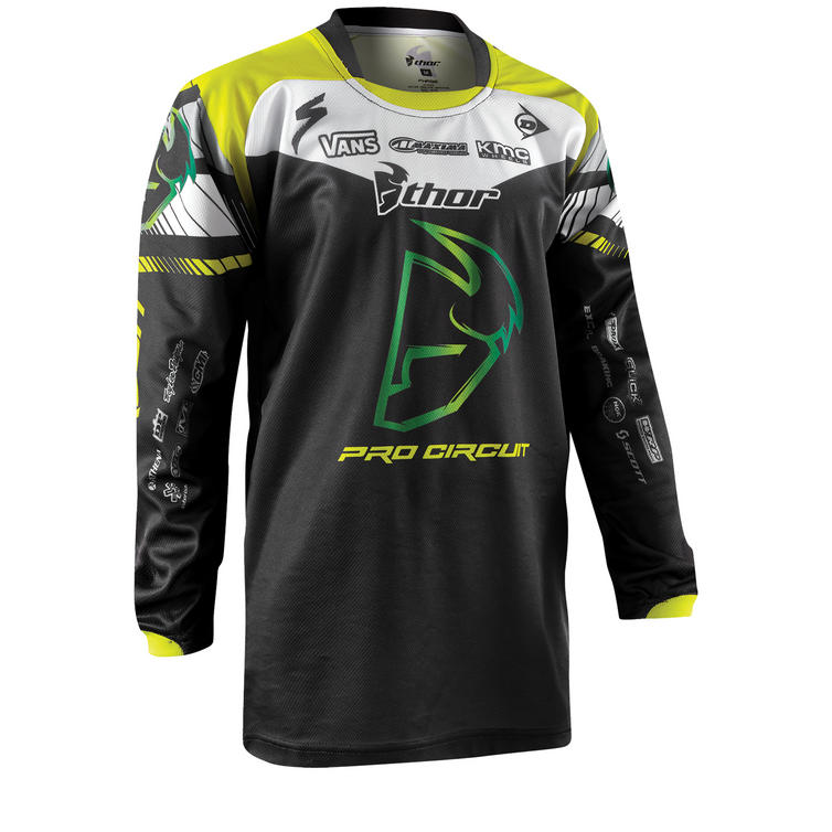 Thor Phase 2015 Youth Pro Circuit Motocross Jersey