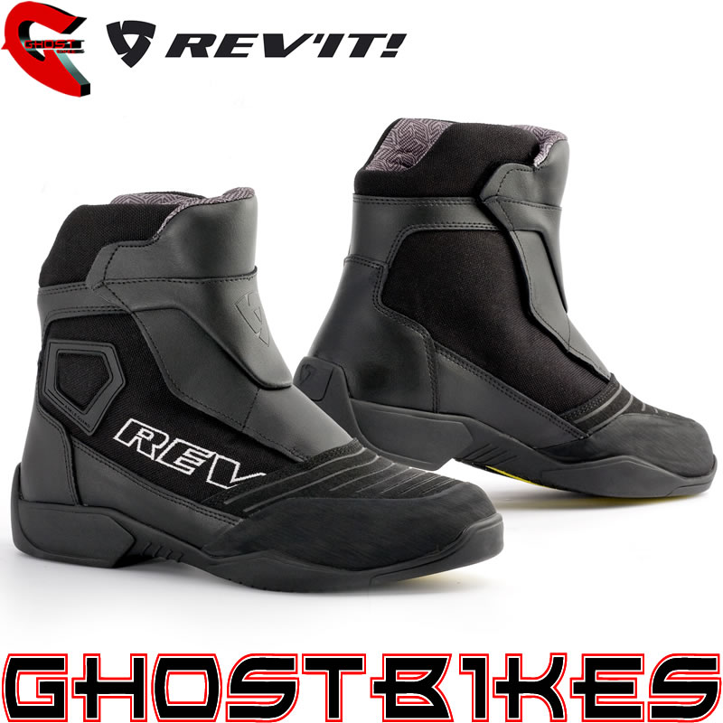 REVIT FIGHTER H20 WATERPROOF MOTORCYCLE MOTORBIKE SHORT ANKLE PADDOCK BOOTS Enlarged Preview