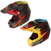 Fly Racing 2015 F2 Carbon Andrew Short Replica Motocross Helmet