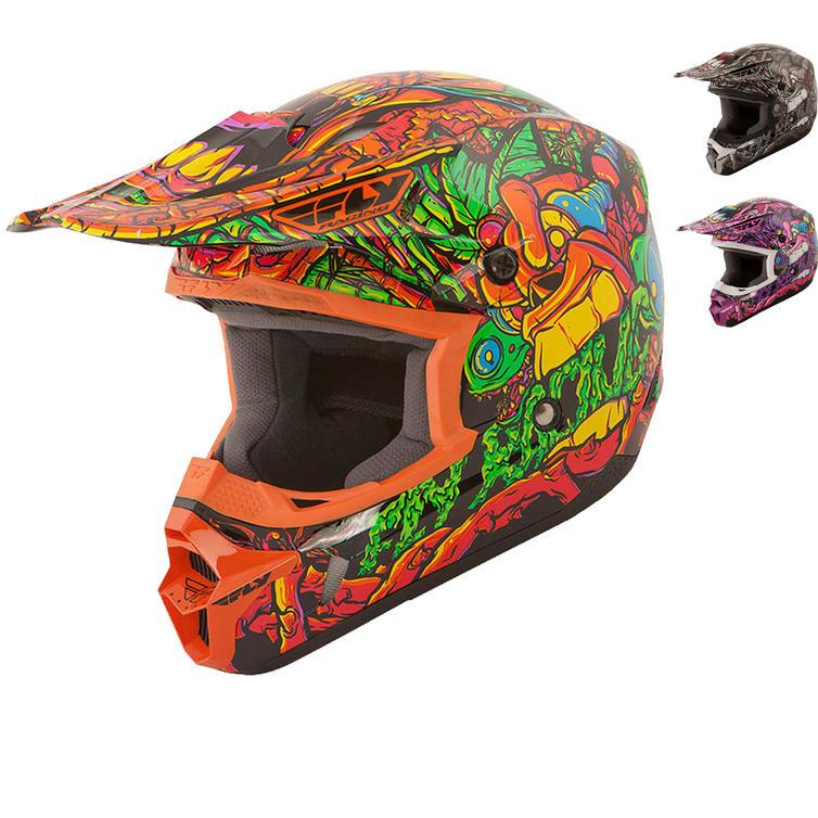 Fly Racing 2015 Kinetic Jungle Youth Motocross Helmet