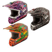 Fly Racing 2015 Kinetic Jungle Youth Motocross Helmet
