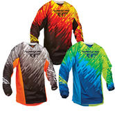 Fly Racing 2015 Youth Kinetic Glitch Motocross Jersey