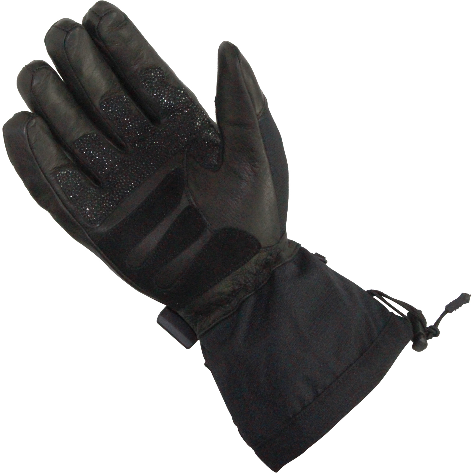 Motorcycle gloves all season - Sports Comm Waterproof All Season Leather Textile Motorcycle