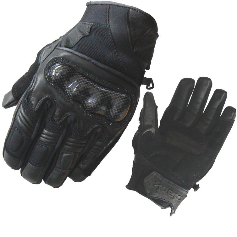 Image of Black City Leather Motorcycle Gloves