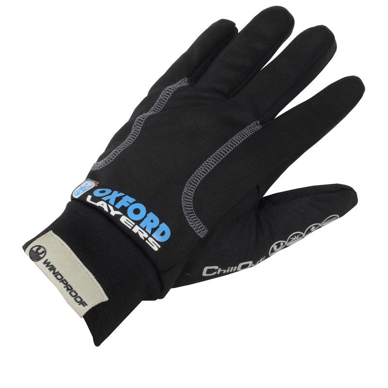Oxford ChillOut Windproof Motorcycle Gloves