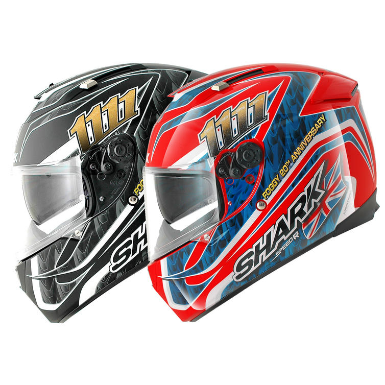 Shark Speed-R Foggy 20th Motorcycle Helmet