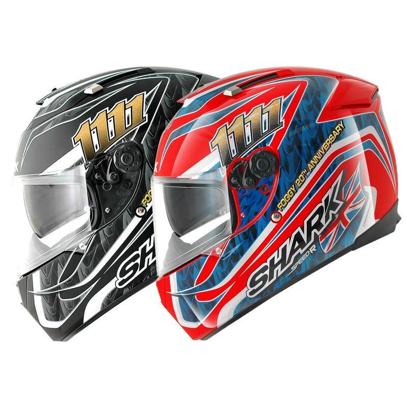 Image of Shark Speed-R Foggy 20th Motorcycle Helmet