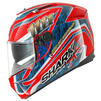Shark Speed-R Foggy 20th Motorcycle Helmet Thumbnail 7