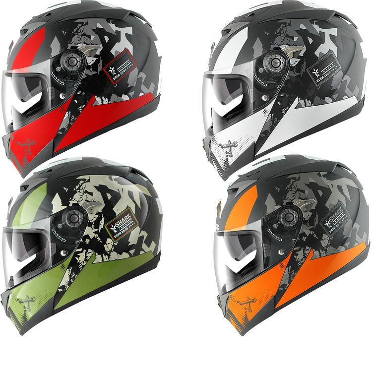 Shark S700S Trax Motorcycle Helmet