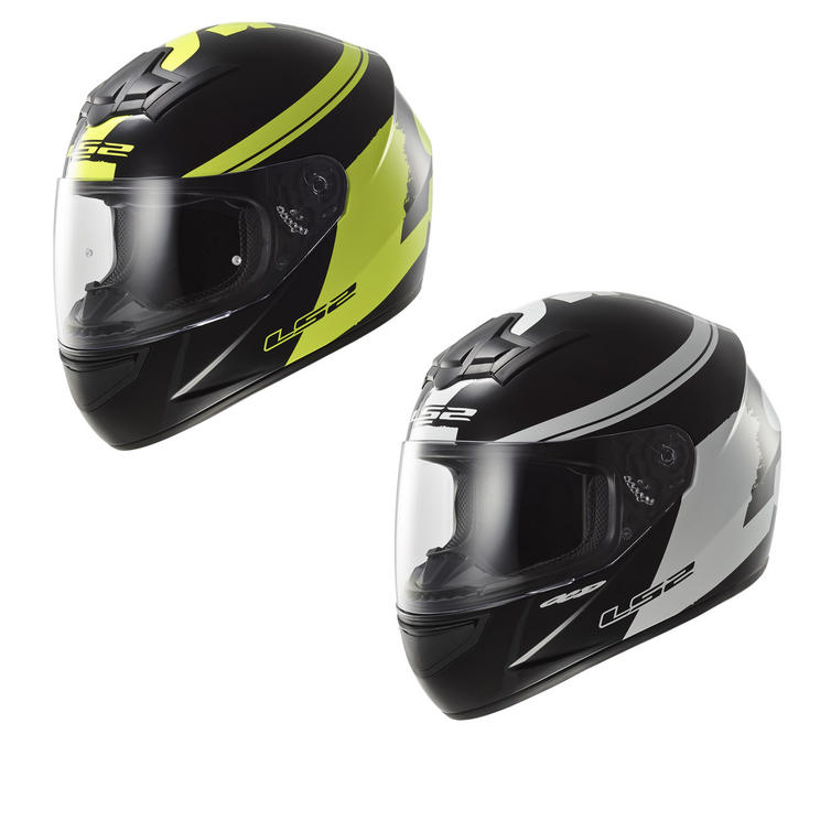 LS2 FF352.24 Rookie Fluo Full Face Motorcycle Helmet