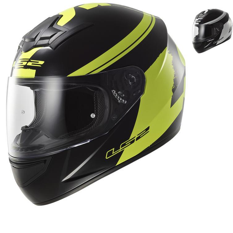 LS2 FF352.24 Rookie Fluo Full Face Motorcycle Helmet