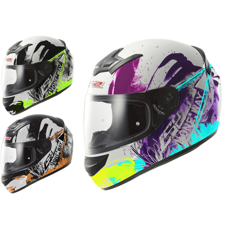 LS2 FF352.52 Rookie One Full Face Motorcycle Helmet