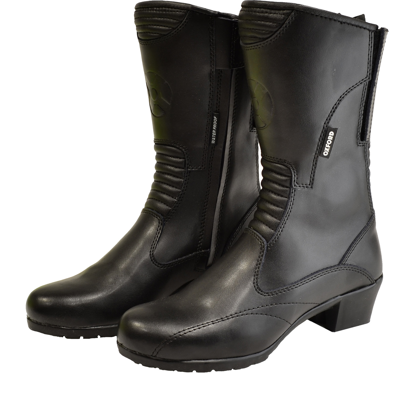 oxford leather motorcycle boots waterproof
