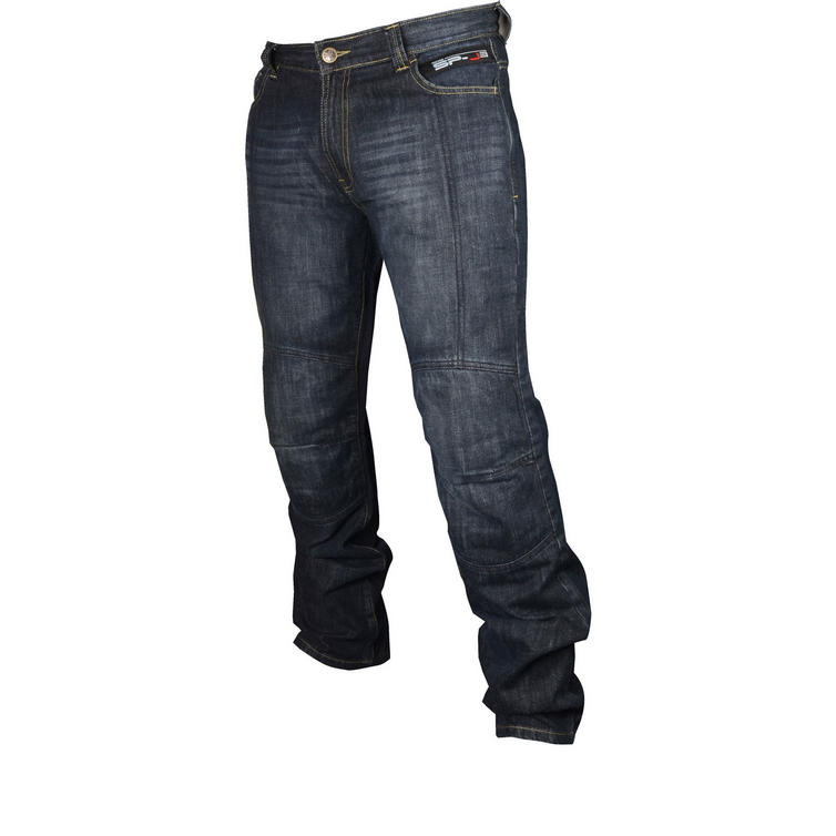 Oxford Aramid SP-J3 Motorcycle Jeans Blue