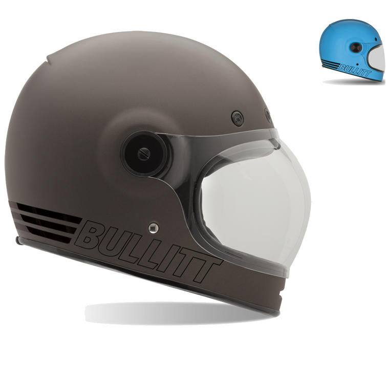 Image of Bell Bullitt Retro Motorcycle Helmet
