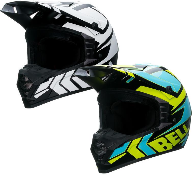 Bell SX-1 Stack Motocross Helmet