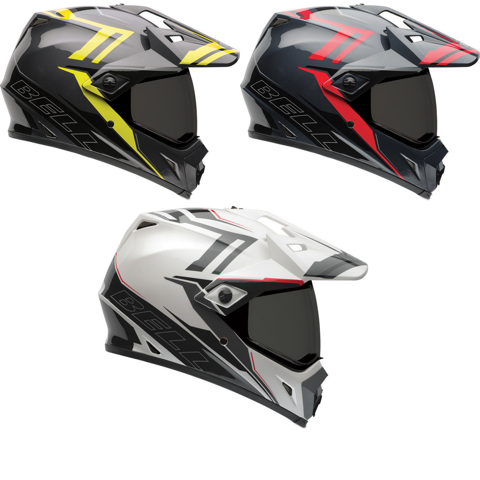 bell mx 9 adventure barricade motocross helmet mx off road enduro atv crash ebay. Black Bedroom Furniture Sets. Home Design Ideas