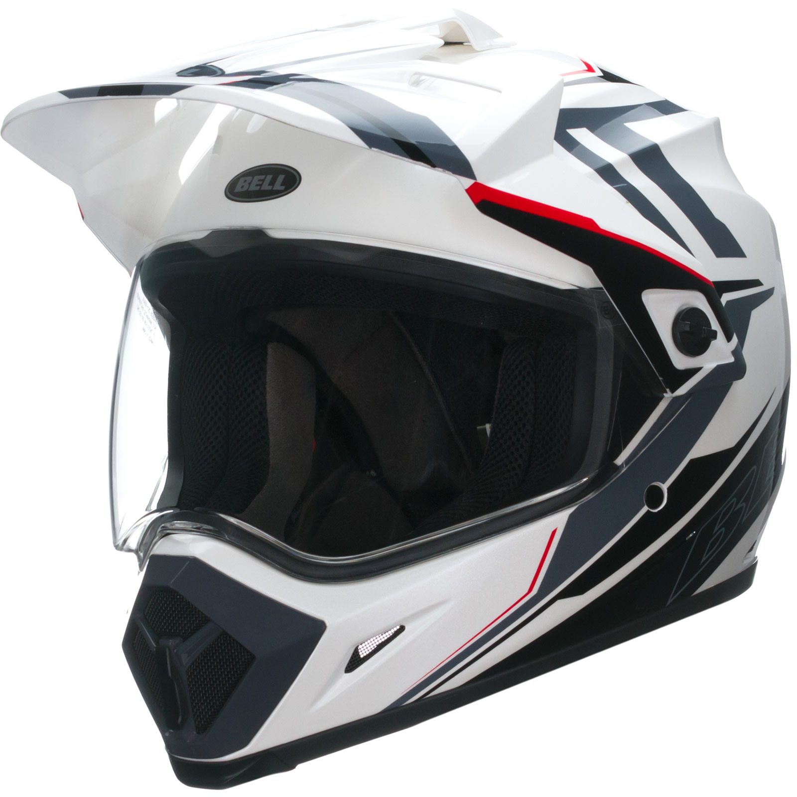 Bell Dual Sport Helmet >> Bell MX-9 Adventure Barricade Motocross Helmet MX Off Road ...