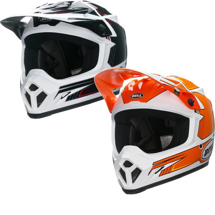 Bell MX-9 Blockade Motocross Helmet