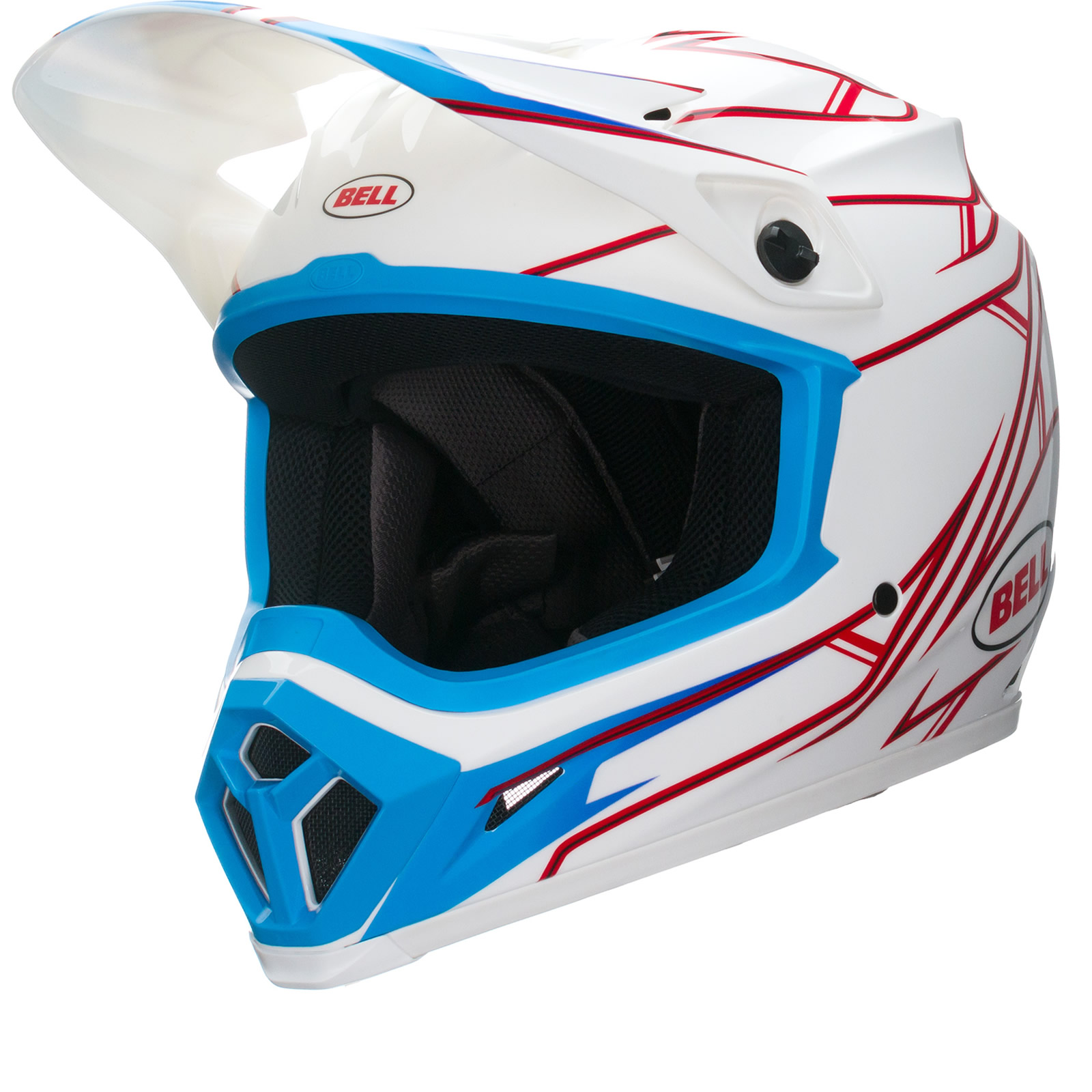 bell mx 9 pinned motocross helmet bell. Black Bedroom Furniture Sets. Home Design Ideas