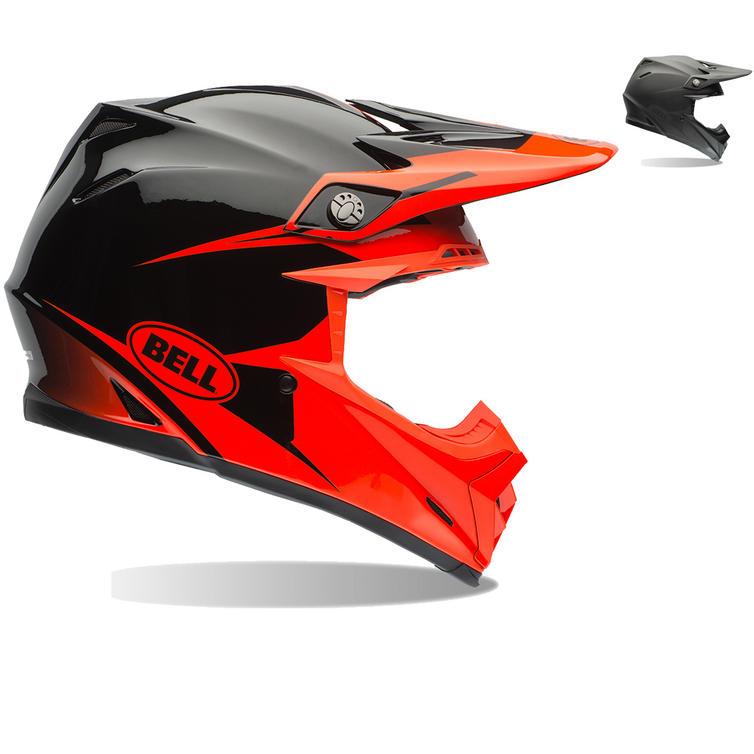 bell moto 9 intake motocross helmet bell. Black Bedroom Furniture Sets. Home Design Ideas