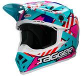 Bell Moto-9 Tagger Trouble Motocross Helmet